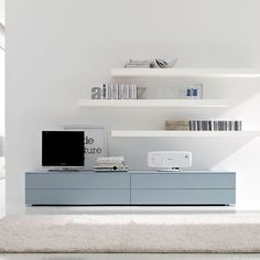 BESTA cabinets and LACK floating shelves to create living room wall. Description from pinterest.com. I searched for this on bing.com/images