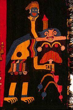 Tejidos de la cultura Paracas. Perú - Arqueología, Historia Antigua y Medieval - Terrae Antiqvae