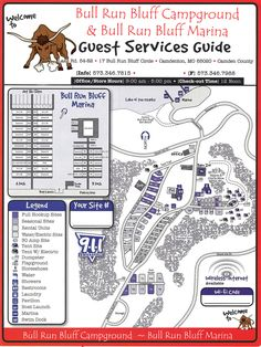 Bethpage Camp Resort Site Map Campground Maps