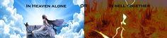 Paradis sau iad? Singur în paradis sau împreună în iad? Ce ați alege?