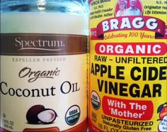 The Superfoods Apple Cider Vinegar and Coconut oil | Eat Like An Actress