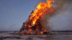 MASLENITSA RUSSIA 2018 BIG FIRE 🔥 МАСЛЕНИЦА 2018 НИКОЛА-ЛЕНИВЕЦ СЖИГАЮТ ...