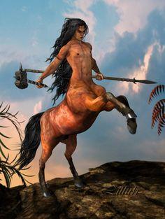 Centaur II by LillithI.deviantart.com on @deviantART