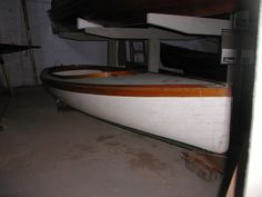 A 21' South Bay Catboat By William & John Atkin, made in france