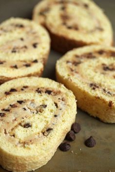 cookie dough cake roll @Jocelyn (Grandbaby Cakes)