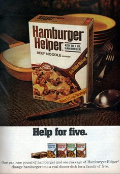 Hamburger Helper - 1972
