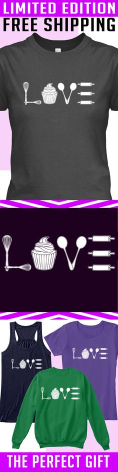 Baking Love - Limited Edition. Only 2 days left for free shipping, get it now!