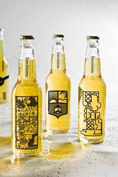 Thorsteinn Beer Brand Bottle Design