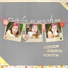 Love the polaroid pic banner   Kay Rogers - Feb SC kit