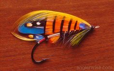 Beautiful Fishing Flies - Gitana