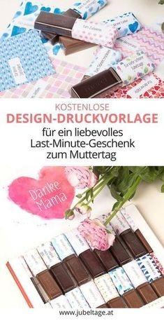 Merci selbst gestalten: Ein persönliches Geschenk basteln mit Vorlage zum Ausdrucken 48 loops for Merci chocolate to print out to make a loving gift for Mom for Mother's Day itself. 48 reasons to say thank you. Diy Gifts For Girlfriend, Diy Gifts For Mom, Cute Gifts, Boyfriend Gifts, Mother Birthday Gifts, Diy Birthday, Mother Gifts, Chocolate Merci, Chocolate Gifts