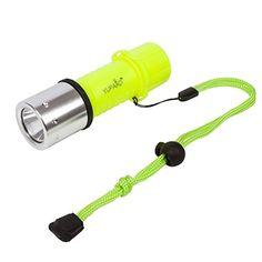 1200 Lumen CREE Lamp LED Submarine Diving Flashlight Underwater Torch, Neon Yellow - http://scuba.megainfohouse.com/1200-lumen-cree-lamp-led-submarine-diving-flashlight-underwater-torch-neon-yellow/