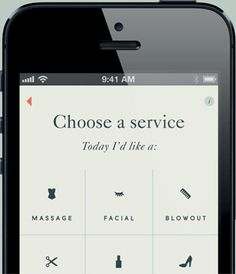 Beautified service choices - find a last minute beauty service appointment in your area from select providers! [Maybe an android app will be available soon?!]