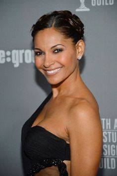 Salli Richardson-Whitfield Photos Photos: Annual Costume Designers Guild Awards With Presenting Sponsor Lacoste - Red Carpet Salli Richardson Whitfield, Black Actresses, The Beverly, Designers Guild, Pure Beauty, Short Hairstyles For Women, Lacoste, Eye Candy, Thighs