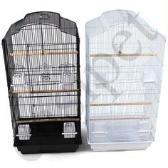Large Metal Bird Cage Budgie Canary Parakeet Cockatiel Finch Lovebird Tall Cages | eBay