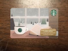 Starbucks Gift Card 2015 NEW Book Cup Steam Window Snow Flake Holiday No $ Value  http://searchpromocodes.club/starbucks-gift-card-2015-new-book-cup-steam-window-snow-flake-holiday-no-value-7/