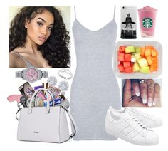 """""""Untitled #19"""" by queen500 ❤ liked on Polyvore featuring Effy Jewelry, Boohoo, adidas Originals, Prada and Rolex"""