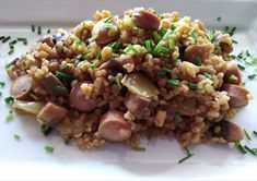 Risotto, Grains, Rice, Baking, Ethnic Recipes, Quinoa, Food, Modern, Diet
