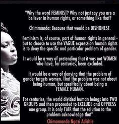 Feminism by Chimanda Ngozi Adichie