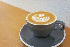 beautiful coffees @ Kaffeine!