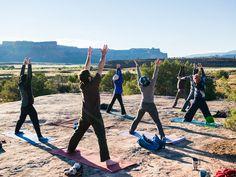 Climbing and Yoga Retreat in Indian Creek, Utah, USA