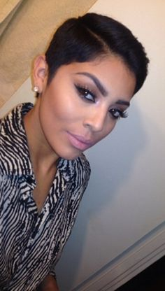Black Short Hairstyles Beauteous Cute Haircut I Don't Ever Want To Go This Short But Some Wo…  Hair