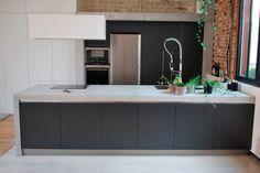 Kitchen island - concrete