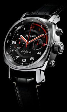 Officine Panerai Ferrari California Flyback Chronograph watch