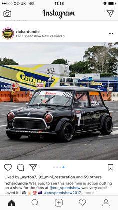 Classic Mini, Classic Cars, Mini Cooper Tuning, Triumph Spitfire, Mini Me, Mini Coopers, Racing, Bike, British