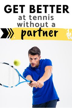 If you want to improve your tennis groundstrokes and serves than practicing tennis alone is a good option.  You get to pick what you work on and what tennis drills are most important.