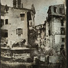 Inizio Via Tor de Specchi 1842 Old Photos, Exterior, Italy, Painting, Art, Rome, Cities, Old Pictures, Art Background