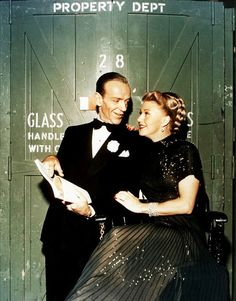 Fred Astaire & Ginger Rogers - I grew up mesmerized by their talent
