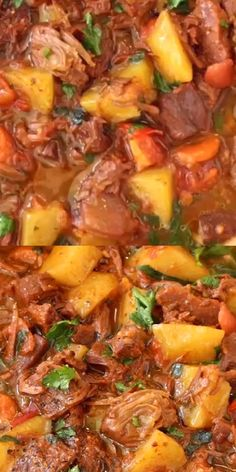 Hearty, delicious and good for you ⭐️⭐️⭐️⭐️⭐️ Plantbased wfpb veganrecipes stew potatoes easyrecipe easydinner 627618898048805133 Vegan Stew, Vegan Soups, Vegan Dishes, Vegan Vegetarian, Raw Vegan, Vegan Dinner Recipes, Veggie Recipes, Whole Food Recipes, Cooking Recipes
