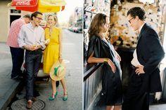 classy engagement photos