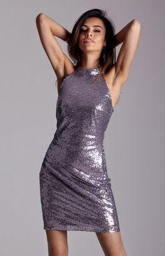 fb0a61ea54d816 Ivon Rihanna sukienka Niesamowita cekinowa sukienka o dopasowanym fasonie,  krój świetnie podkreśla sylwetkę, na
