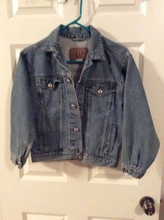 6877ff5aa27a9 Girls Gap Denim Jacket Size L  Gap