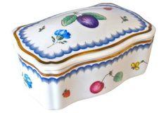 Richard Ginori Italian Fruit Trinket Box