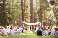 outdoor wedding altar ideas - Google Search