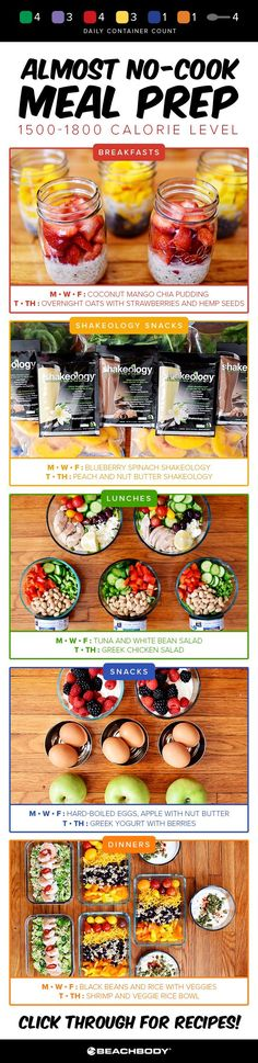Try this almost no cook meal prep that is easy, delicious, and will set you up for success the whole week! meal plan // meal prep ideas // 21 day fix // best meal preps // how to meal prep // shakeology // Beachbody // Beachbody Blog // #mealplanning #mealprep #21dayfix