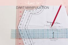 how to manipulate dart location // megan nielsen blog
