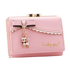 8 Card Holders Women Pu Leather Short Wallet Credit Card Holder Coins Bag  Worldwide delivery. 12e8316766158