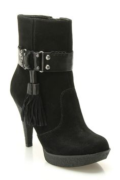 Tassel Ankle Booties