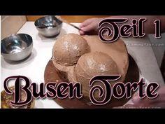 Anleitung für eine Busentorte - Teil 1 - Form herstellen, füllen, frosten,... - YouTube