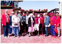The Senior Division hosted a trip to Pimlico Race Track with 235 seniors in attendance! The festivities began with a buffet lunch served in the Triple Crown Room following by an afternoon of cheering on the seniors' favorites. The third race was named after Recreation and Parks Senior Citizens Division and a select group was then photographed with the winning jockey of that race.