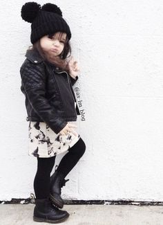 Just too cute for a little girl with attitude! #cutekid #ThreeInteriors