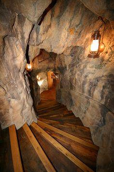 Awesome entrance to the a woman Cave. Woman Cave Design Ideas, Pictures, Remodel, and Decor Stairway leading to the woman cave. Man Cave Designs, Secret Passage, Ultimate Man Cave, Deco Nature, Hidden Rooms, Woman Cave, Man Room, Deco Design, Design Design