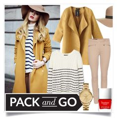 """PACK and GO"" by elizcoco ❤ liked on Polyvore featuring Topshop, Chicnova Fashion, MANGO, Loro Piana, Lacoste and Butter London"
