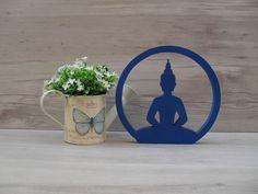 Escultura Silhueta Buda Sentado