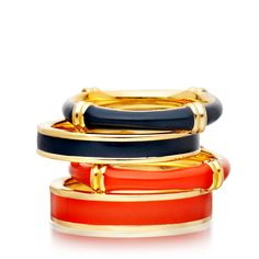 These rings are part of the new Cruise Collection for Astley Clarke Colour. Everyone loves a good sailor. #AstleyClarke #colour #cruise #jewellery #bamboo #coral #jewelry #rings #color