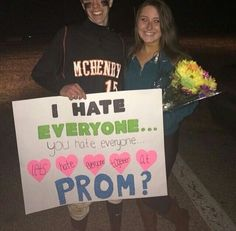 Asking someone to prom done the right way